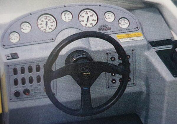 Baja Boat Cockpit