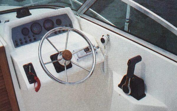 Pursuit cuddy 2150 steering wheel
