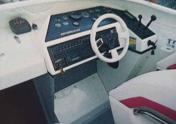 Seebold Eagle 265 Cockpit