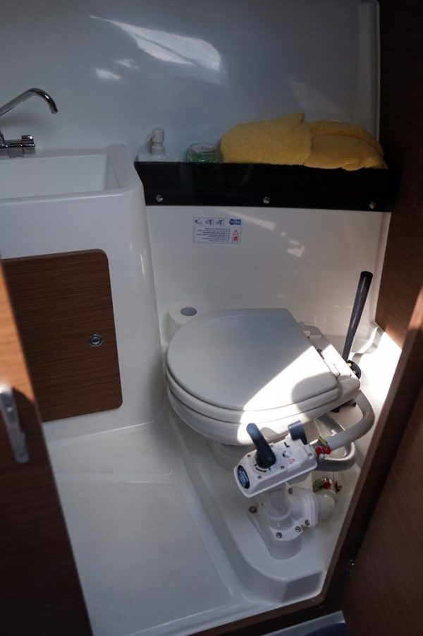 merry fisher 795 boat toilet